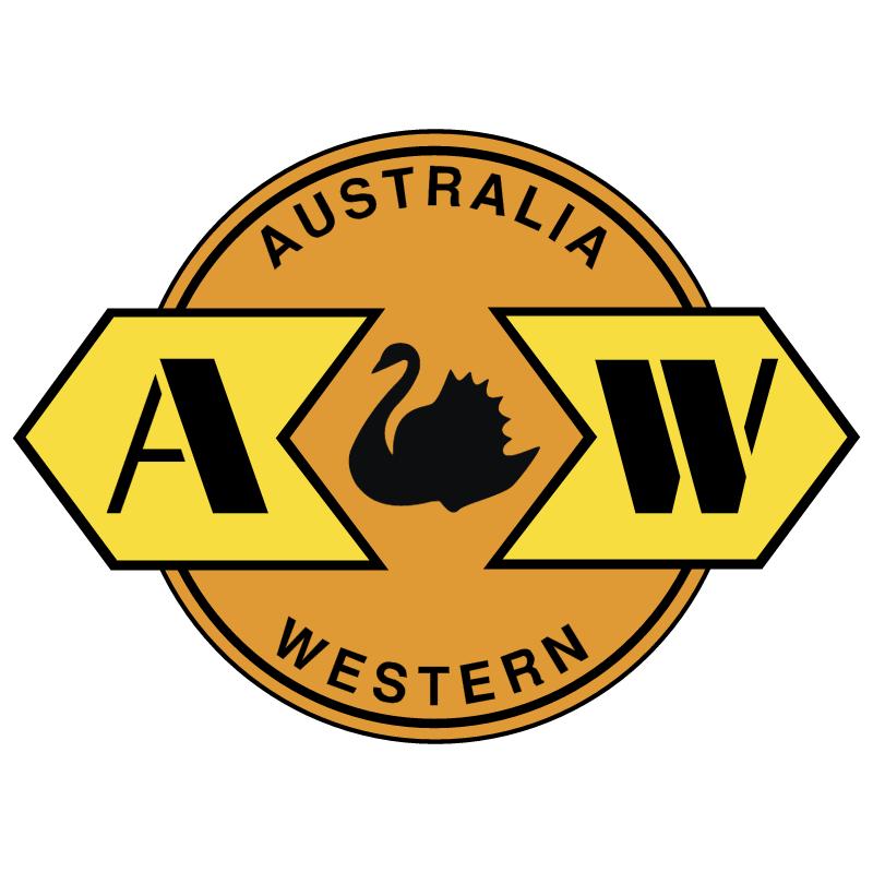 Australia Western Railroad vector