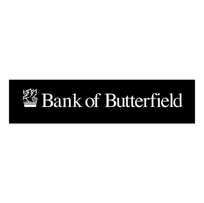 Bank of Butterfield 80865 vector