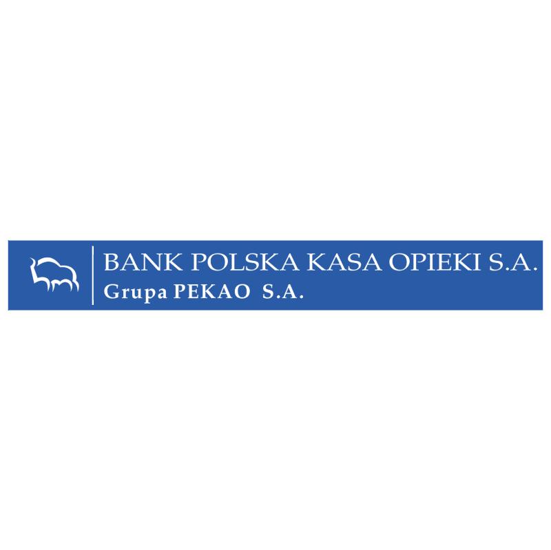 Bank Polska Kasa Opieki 12444 vector