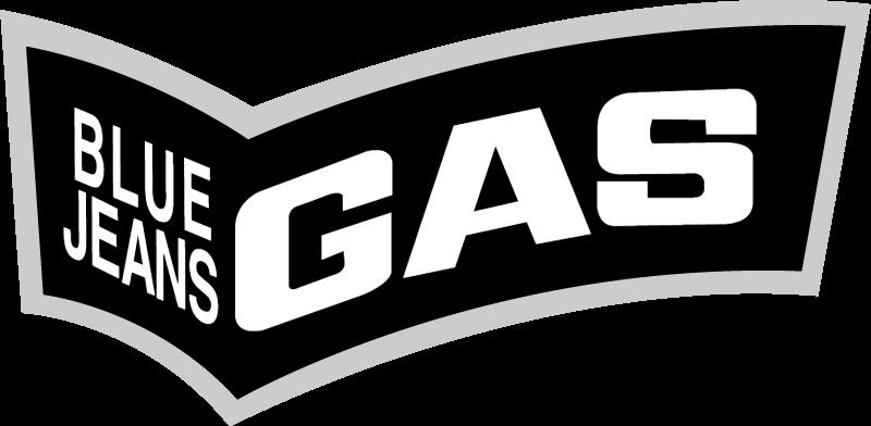 blue jeans gas vector