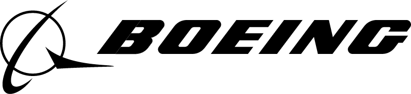 Boeing logo Black vector