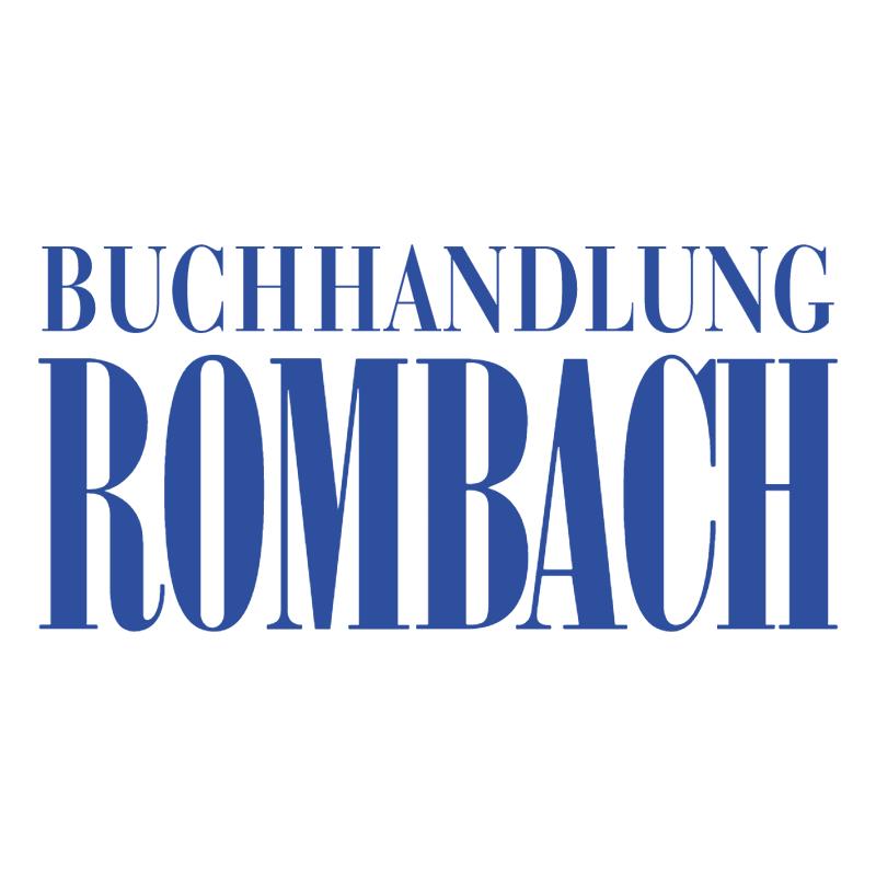 Buchhandlung Rombach 72921 vector