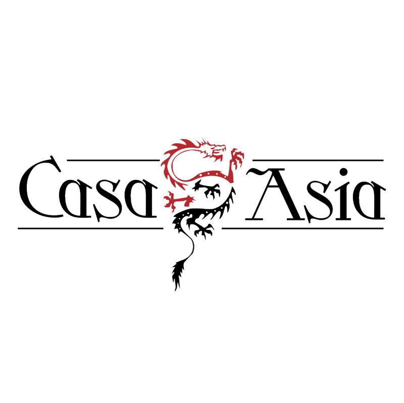 Casa Asia vector