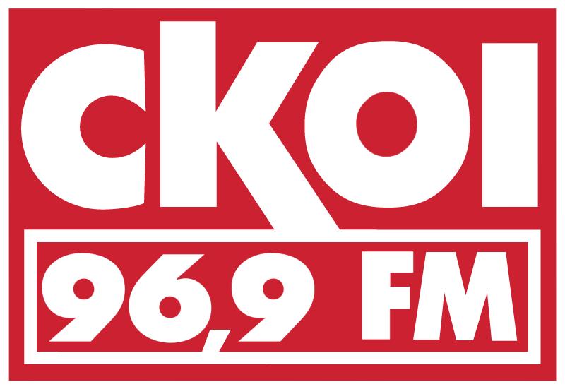 CKOI FM Radio logo vector