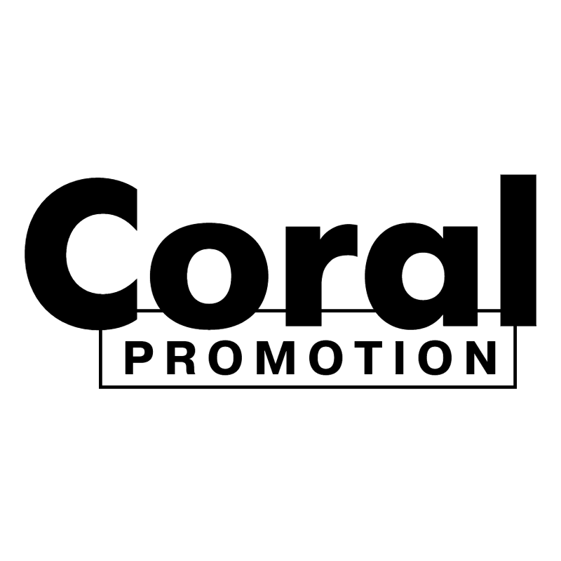 Coral Promotion vector