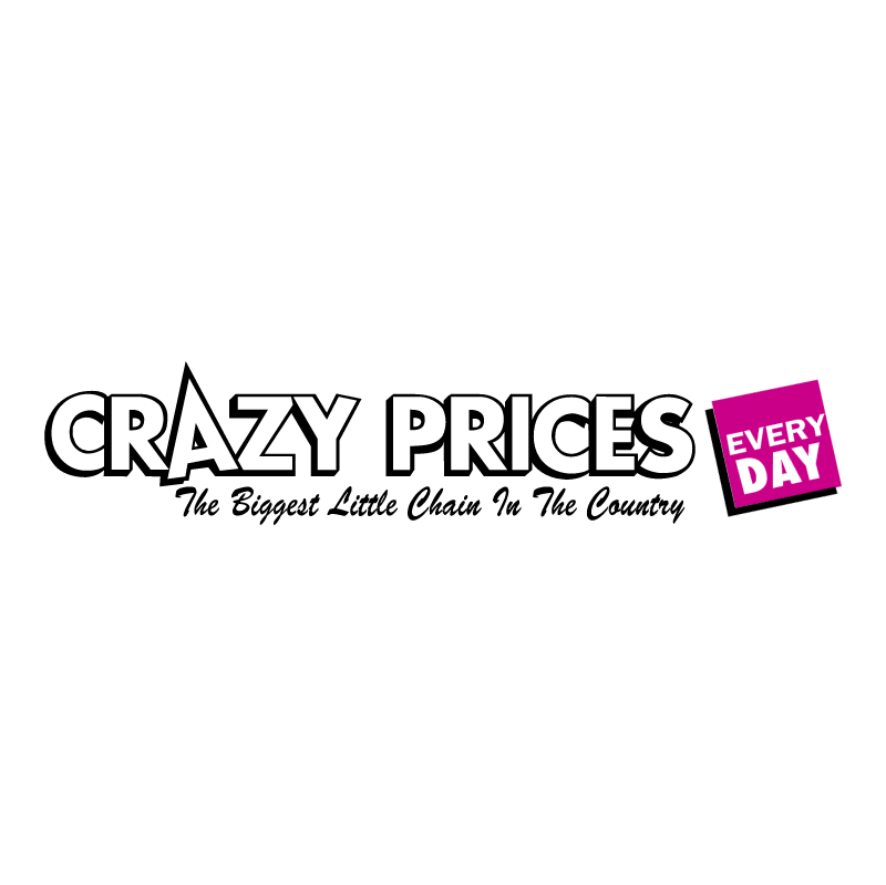 Crazy Prices vector