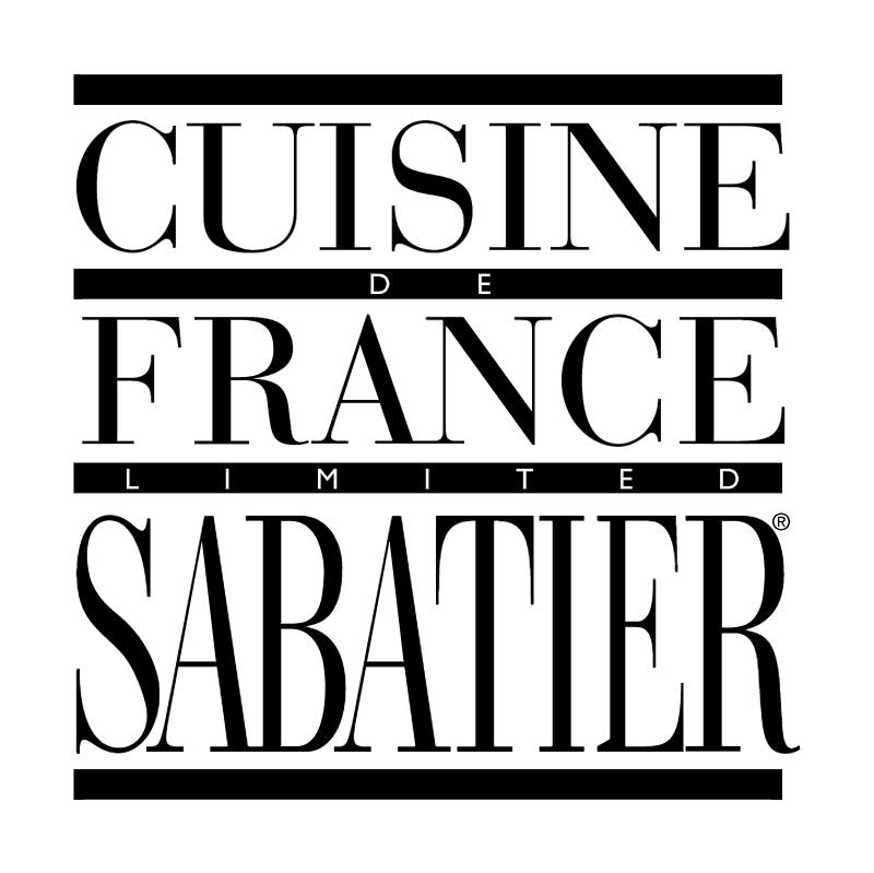 Cuisine France Sabatier vector