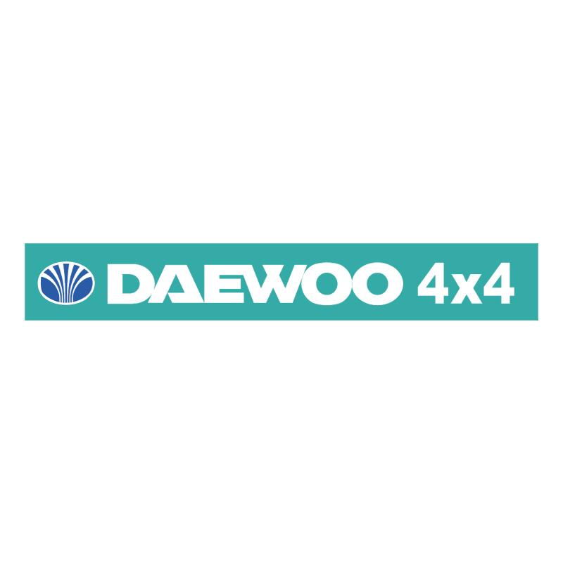Deawoo 4X4 vector