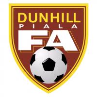 Dunhill Piala FA vector