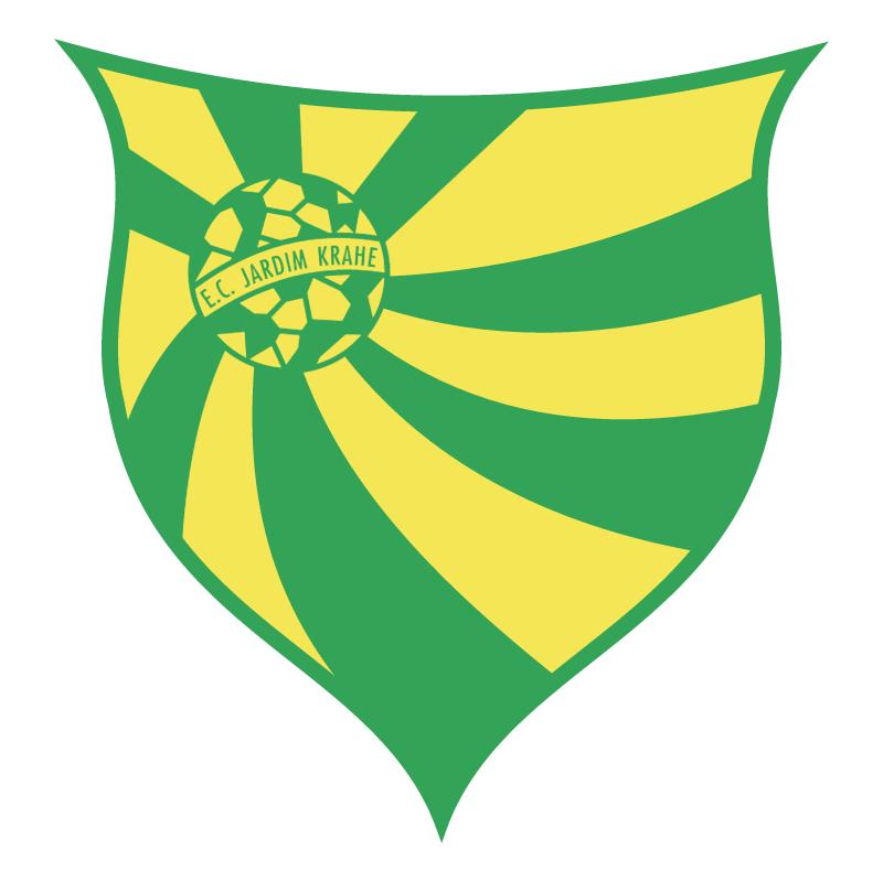 Esporte Clube Jardim Krahe de Viamao RS vector logo