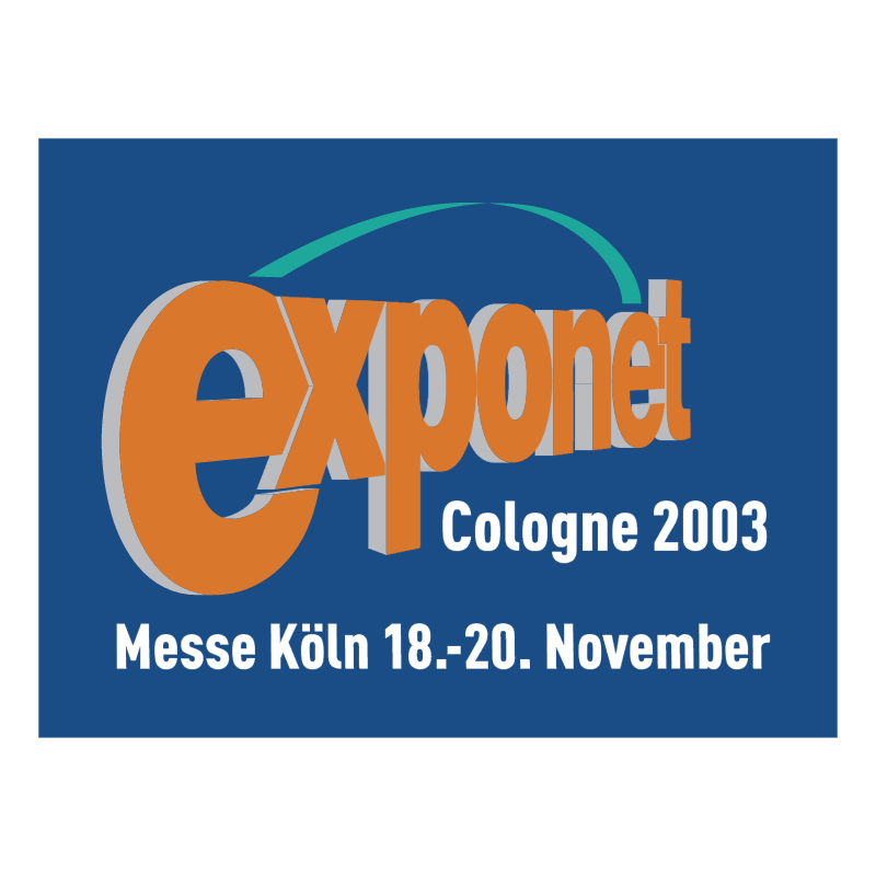 Exponet Cologne 2003 vector