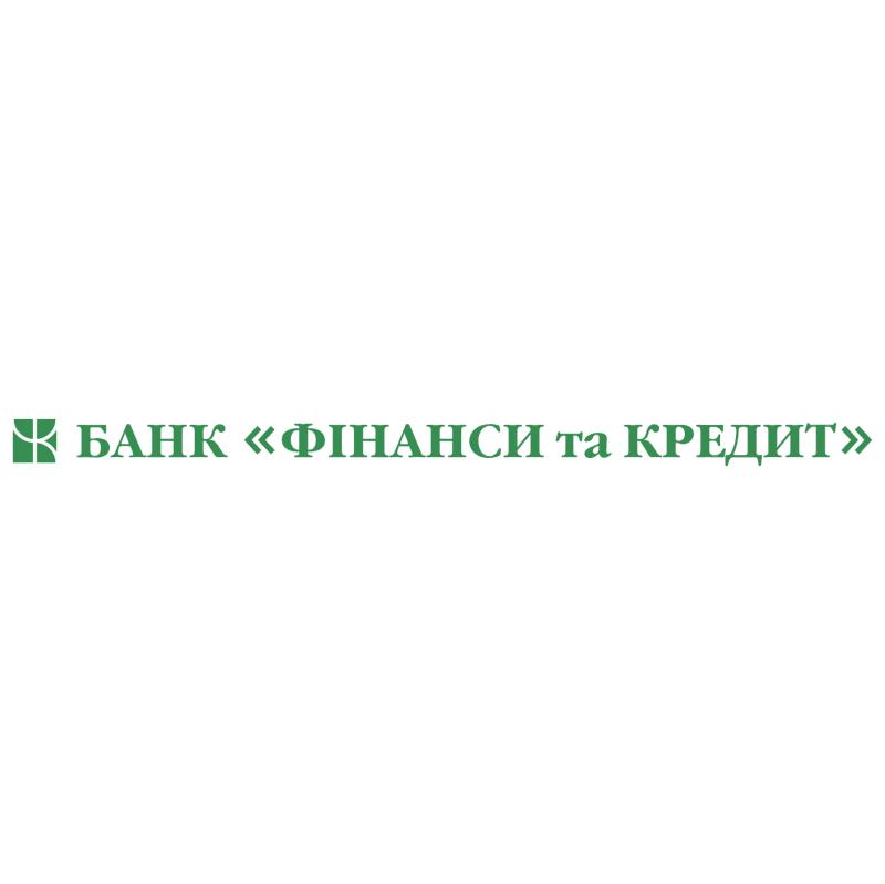 Finansy and Credit Bank vector