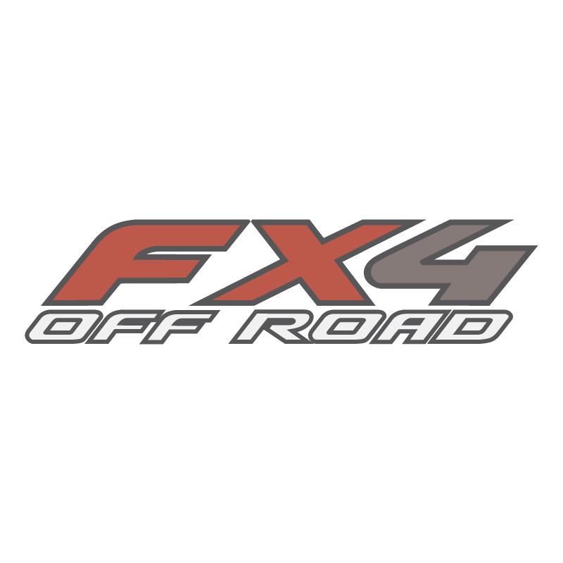 FX4 Off Road vector logo