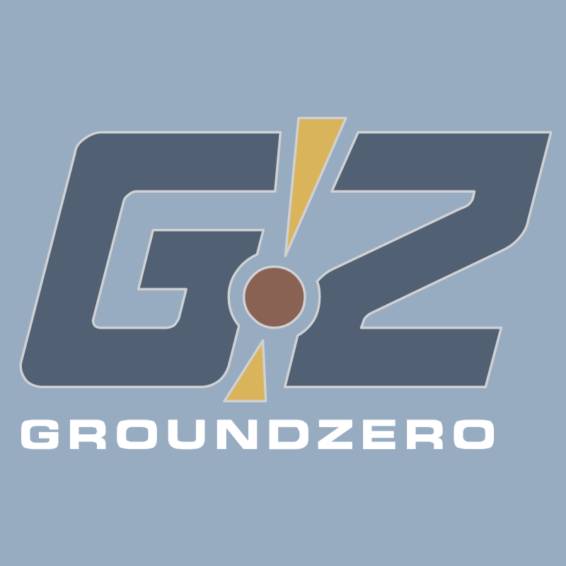 GZ GroundZero vector logo