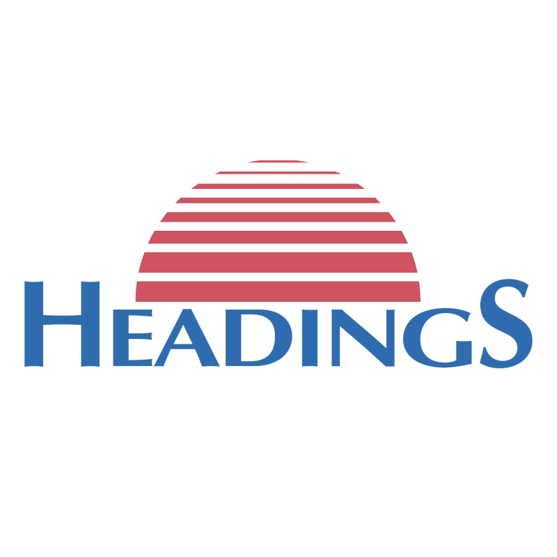 Headings vector logo