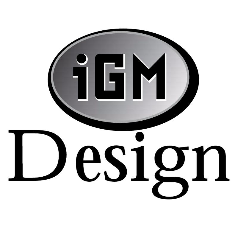 IGM Design vector