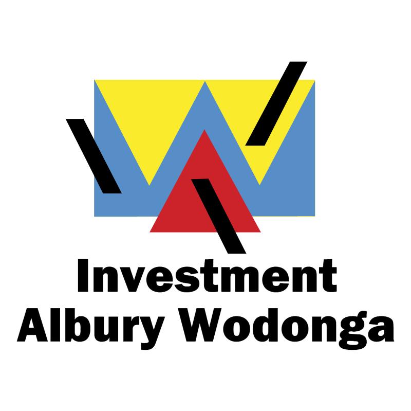 Investment Albury Wodonga vector logo