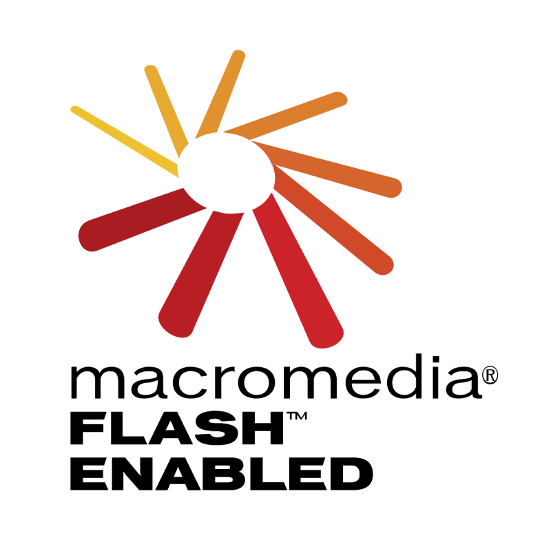 Macromedia Flash Enabled vector