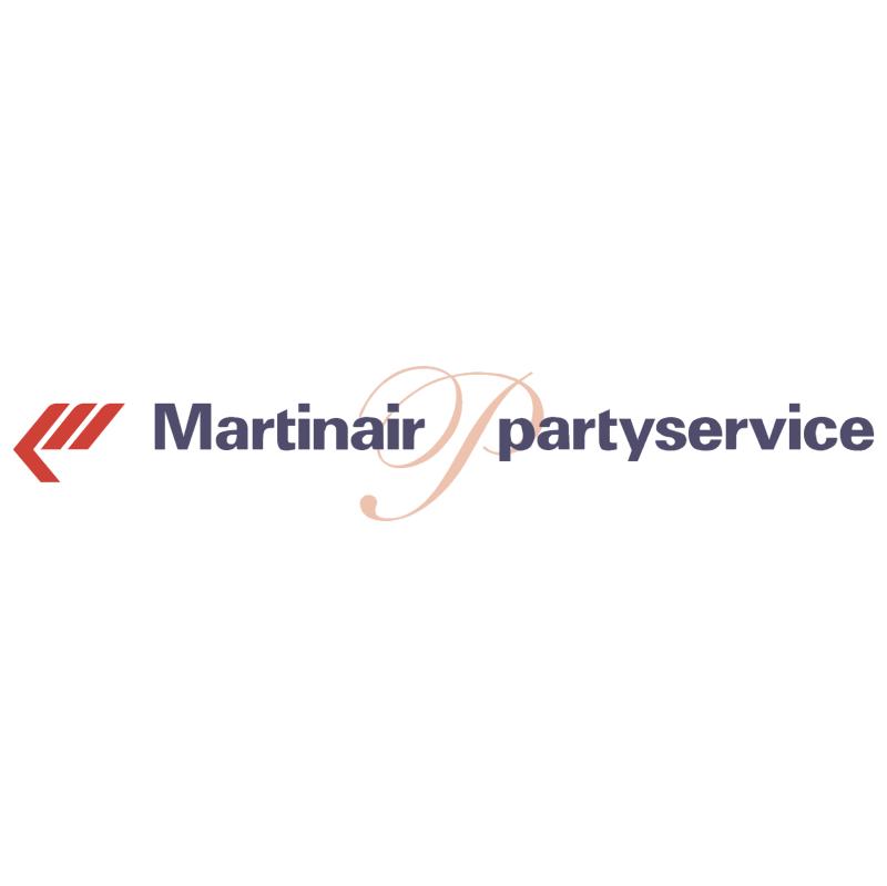 Martinair Partyservice vector logo