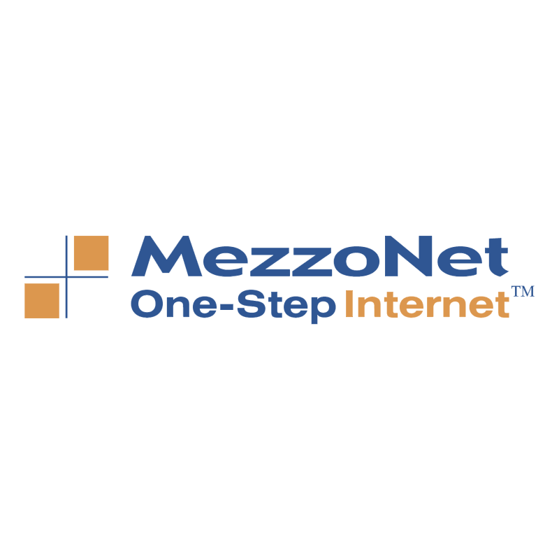 MezzoNet vector logo