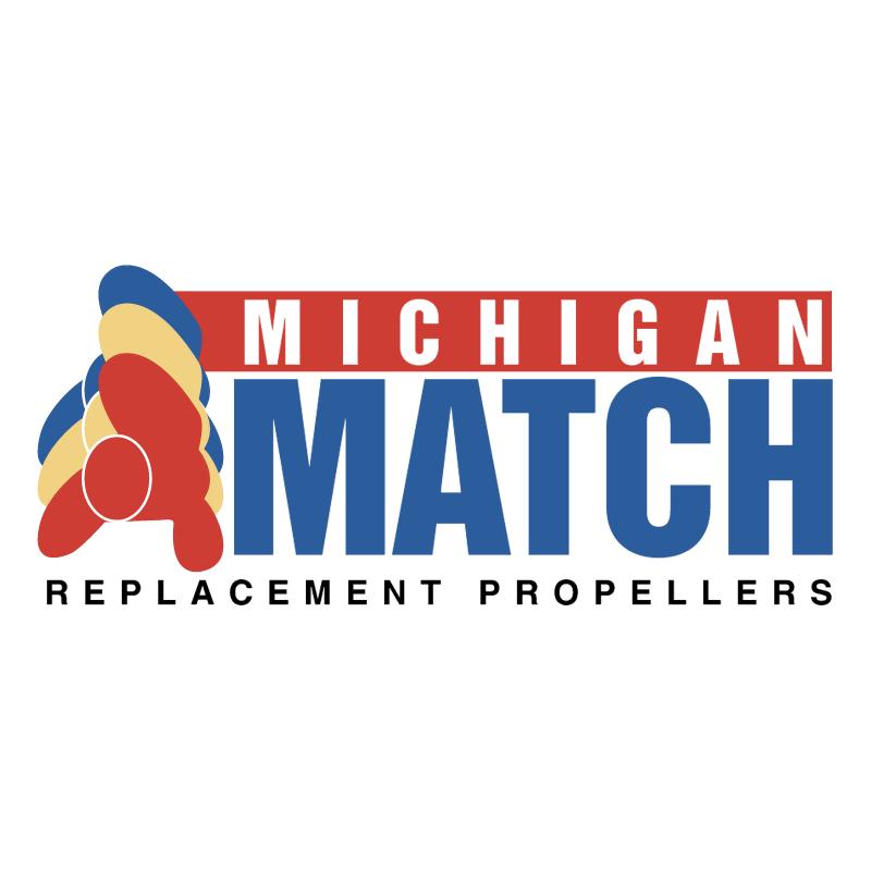 Michigan Match vector logo