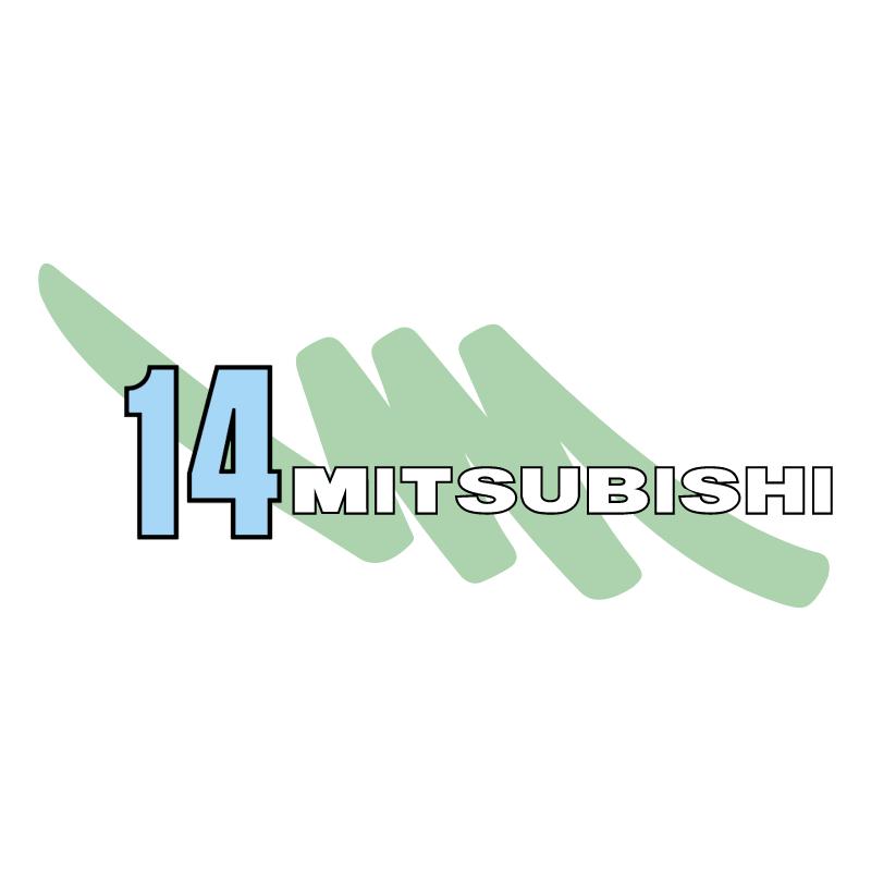 Mitsubishi 14 vector