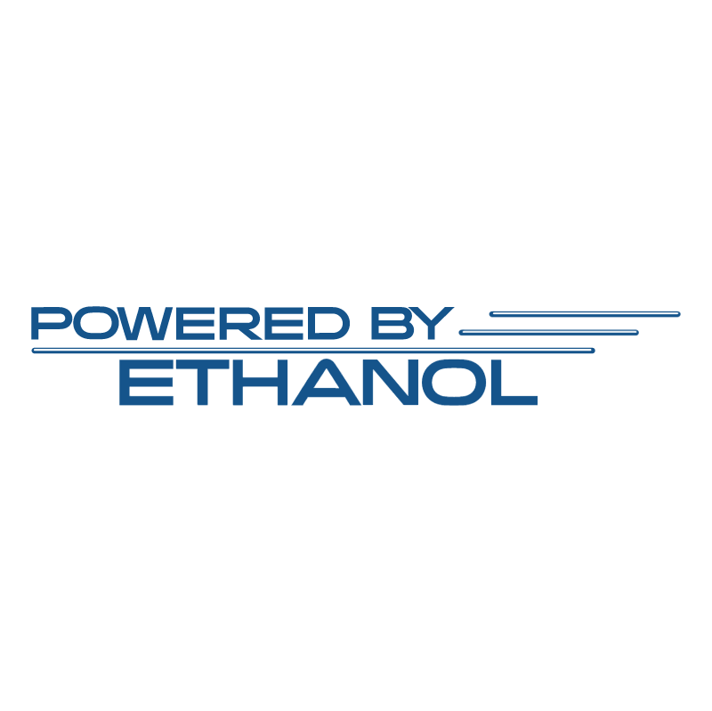 Powered by Ethanol vector