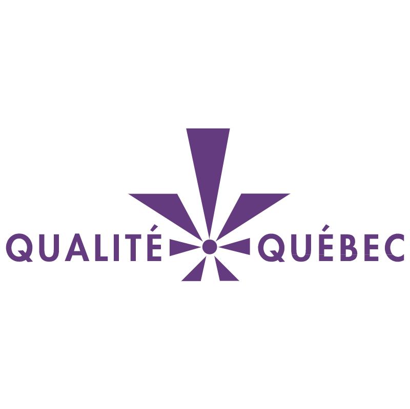 Qualite Quebec vector