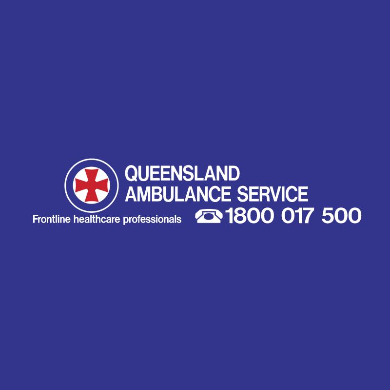 Queensland Ambulance Service vector logo