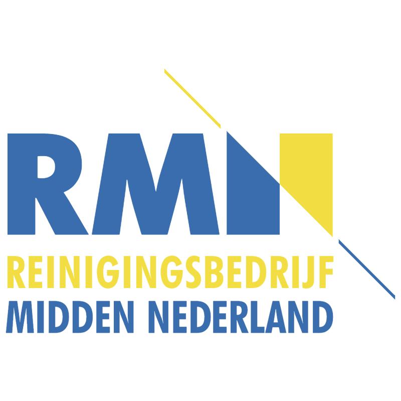 Reinigingsbedrijf Midden Nederland vector logo