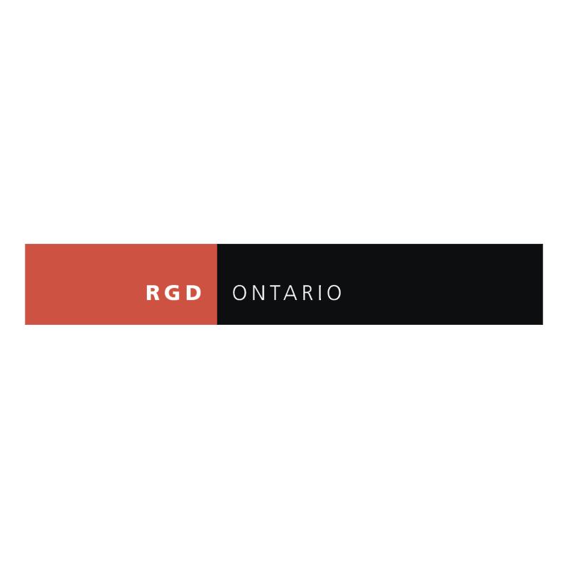 RGD Ontario vector