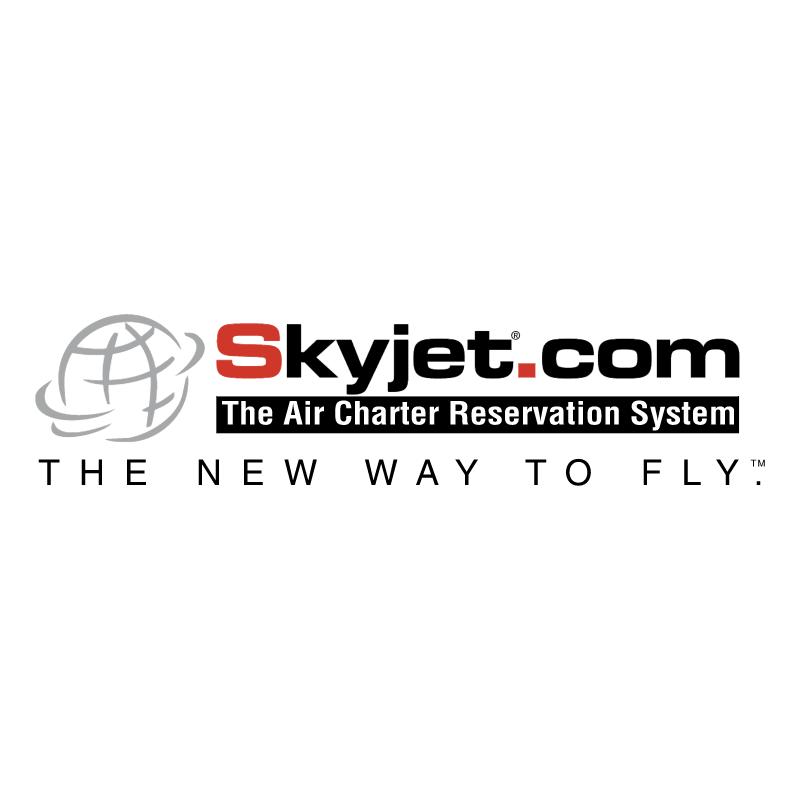 Skyjet com vector