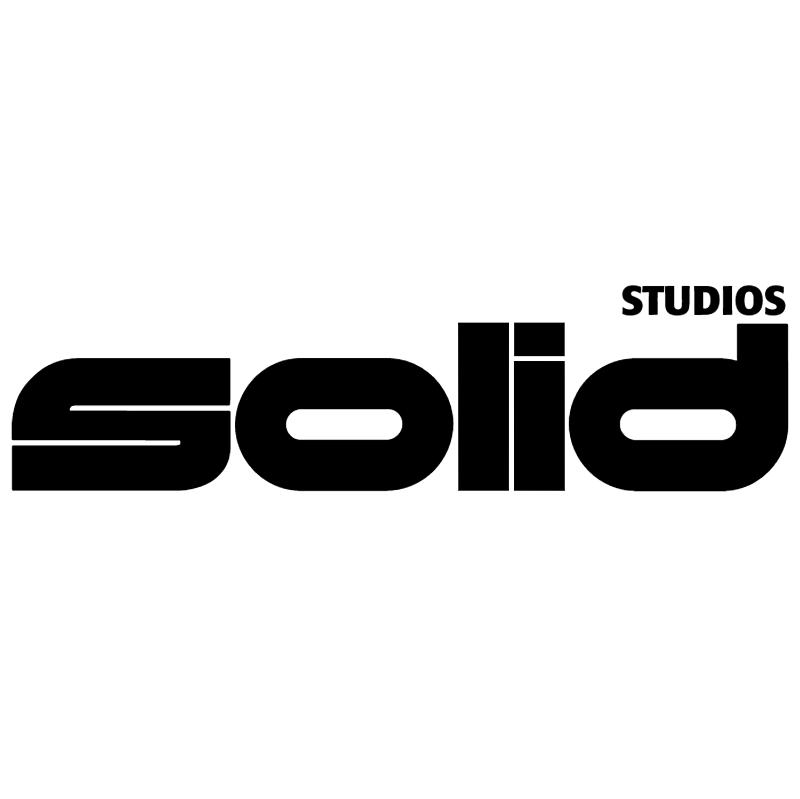 Solid studios vector