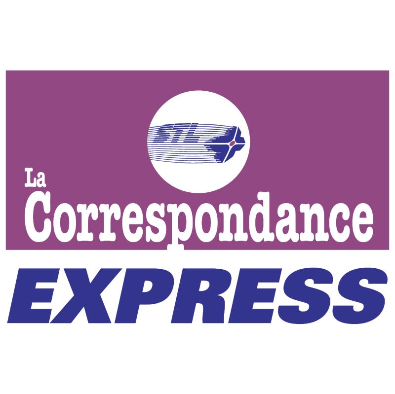 STL Correspondance Express vector
