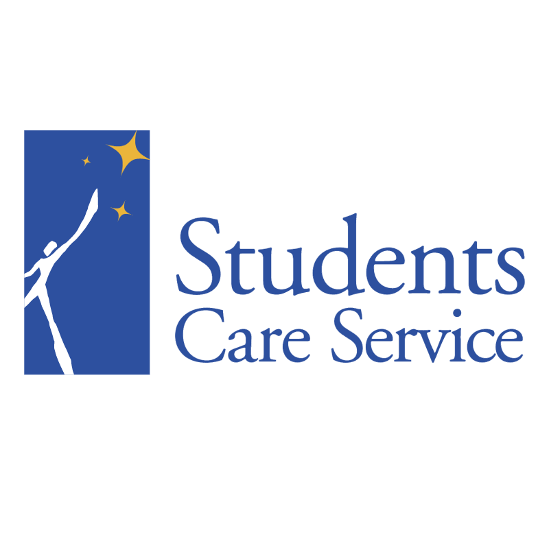 Students Care Service vector