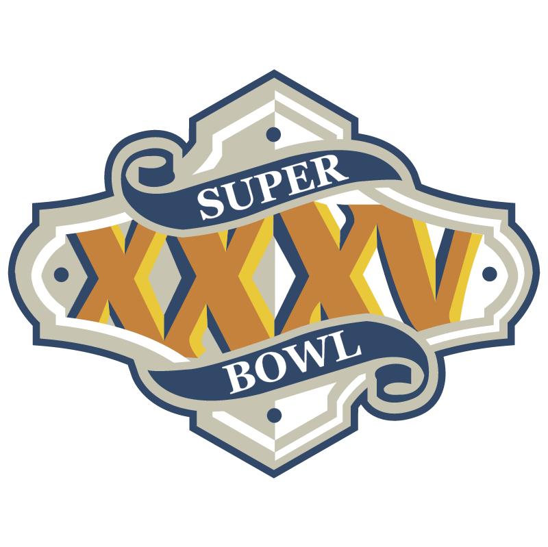 Super Bowl 2001 vector