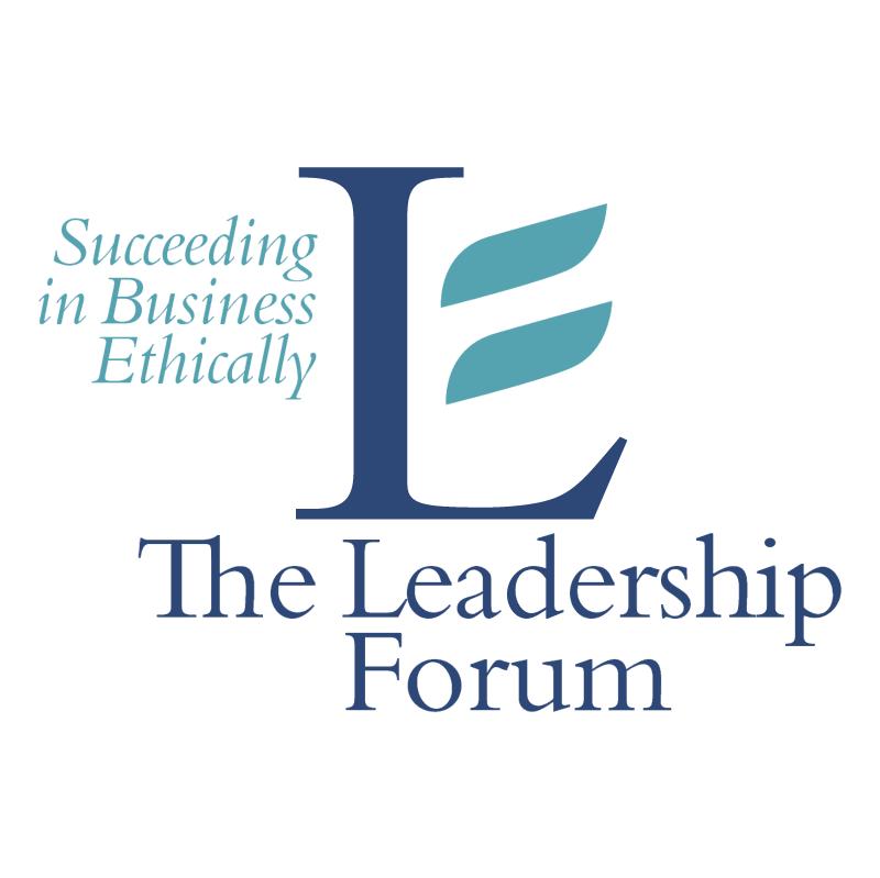 The Leadership Forum vector