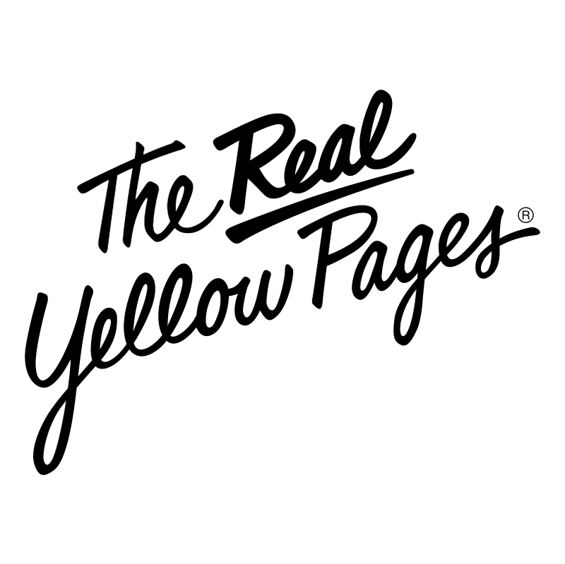 The Real Yellow Pages vector