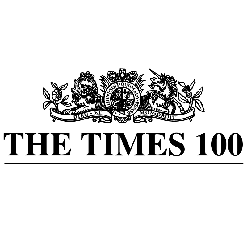 The Times 100 vector
