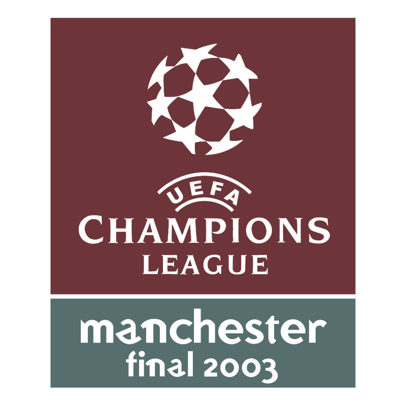 UEFA Champions League Manchester Final 2003 vector