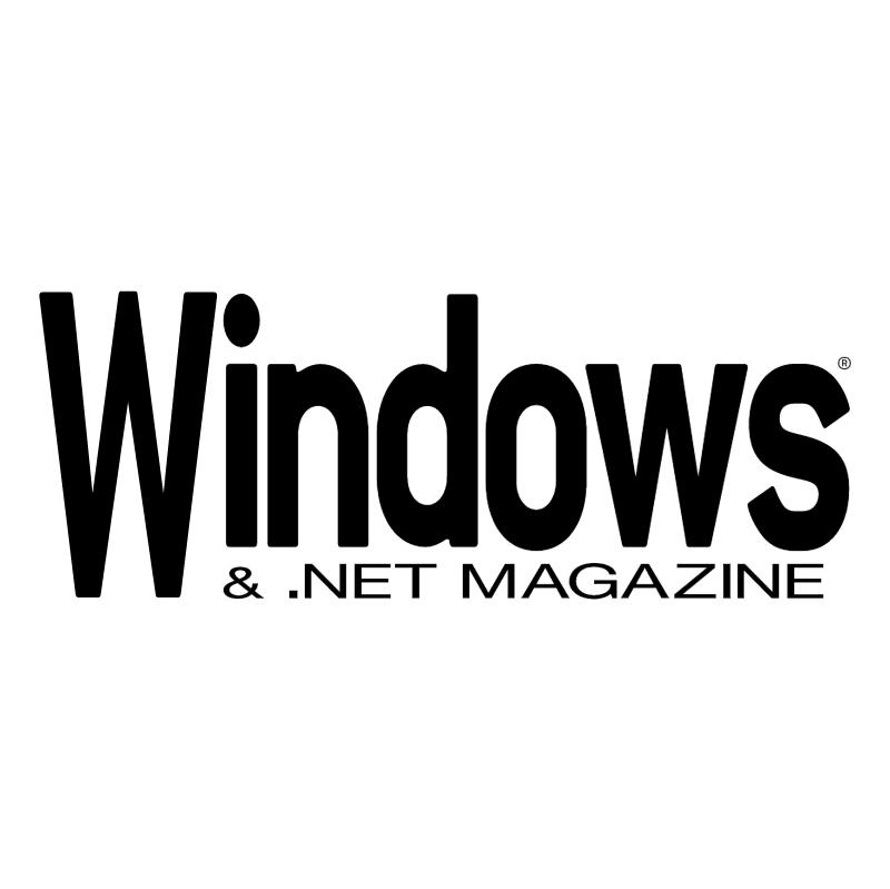 Windows & NET Magazine vector