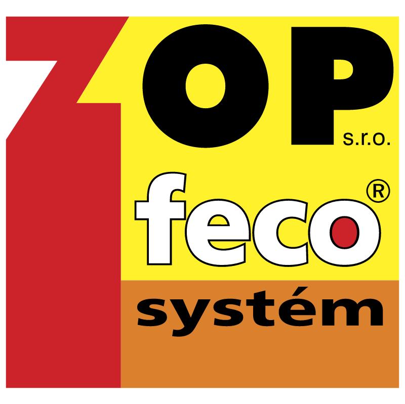 Zop Feco System vector