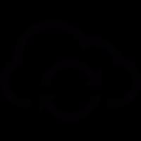 Cloud refresh arrow vector