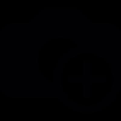 Image add button vector logo