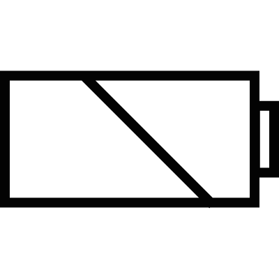 Battery sign vector logo