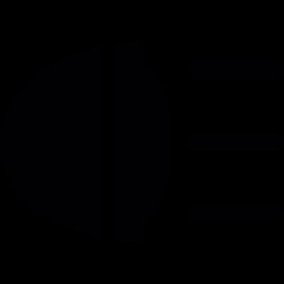 Car beacon On vector logo
