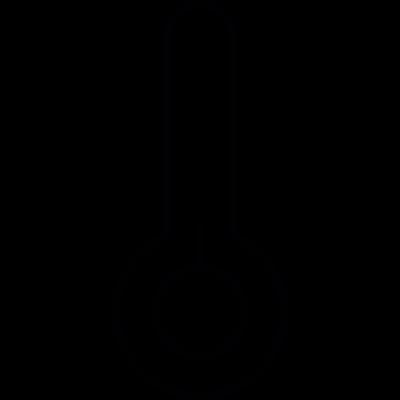 Low temperature reading vector logo