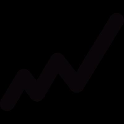 Graph line vector logo