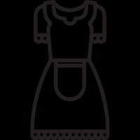 Antique Dress vector