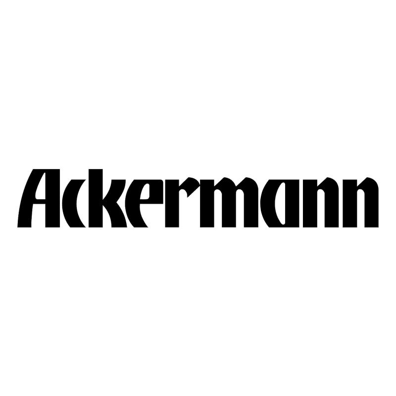 Ackermann 63391 vector